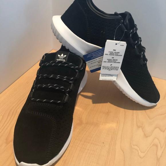 release date: 5a93b c3765 Adidas Originals Tubular Shadow Shoes Black CQ0933